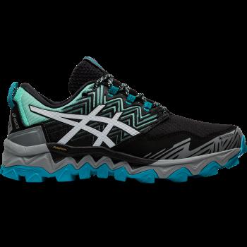 Asics GEL-FUJITRABUCO 8 GTX, ženske patike za trčanje, crna