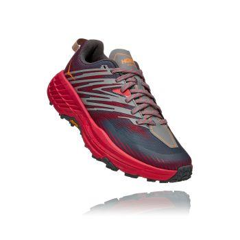 Hoka One One SPEEDGOAT 4 W, ženske patike za trail trčanje, siva