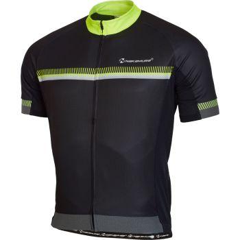 Nakamura RACING JERSEY, muška majica za biciklizam, crna