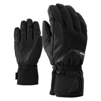 Ziener GALVIN AS, rukavice za skijanje, crna