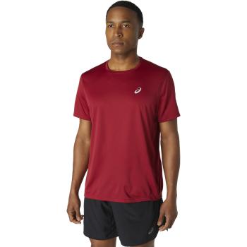 Asics KATAKANA SS TOP, muška majica za trčanje, crvena