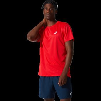 Asics CORE SS TOP, muška majica za trčanje, crvena