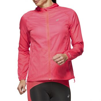 Asics PACKABLE JACKET, ženska jakna za trčanje, pink