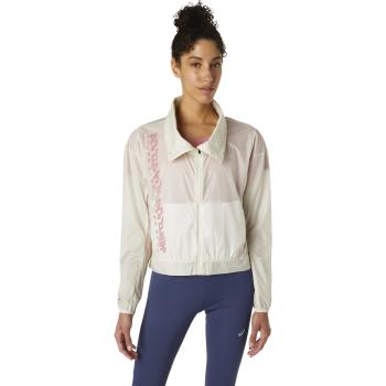 Asics RUN JACKET, ženska jakna za trčanje, bela