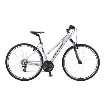 Nakamura PLATINUM 3.0 W, ženski treking bicikl, bela