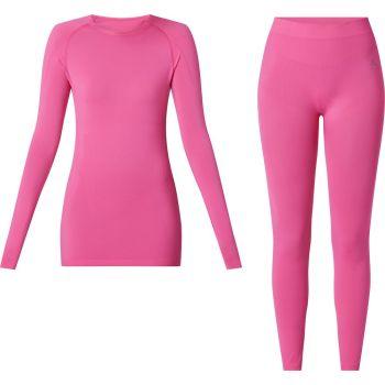 McKinley SET YALATA WMS/YADINA WMS, ženski donji veš set, pink