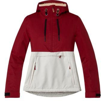 Firefly DAKOTA WMS, ženska jakna za snowboard, crvena