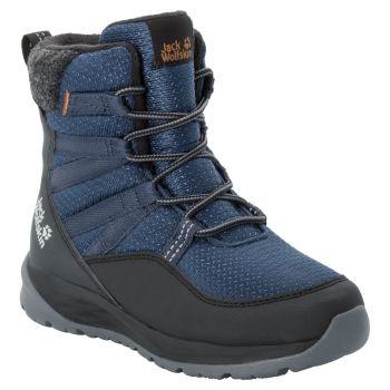 Jack Wolfskin POLAR BEAR TEXAPORE HIGH K, dečije cipele, plava