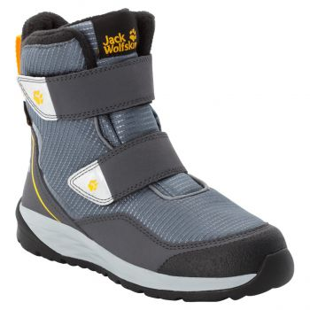 Jack Wolfskin POLAR BEAR TEXAPORE HIGH VC K, dečije cipele, siva