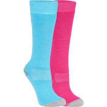 McKinley ROB JRS 2-PACK MCK, dečje čarape za skijanje, pink