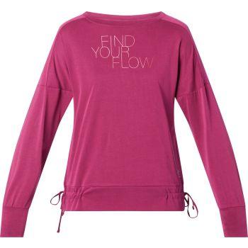Energetics OMANY WMS, ženska majica dug rukav za fitnes, crvena