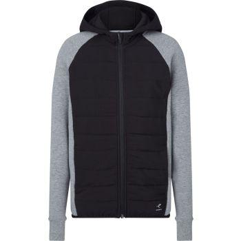Energetics COLLY II JRS, dečja jakna za fitnes, siva
