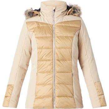 McKinley GIZZA JKT WMS, ženska jakna a planinarenje, zlatna