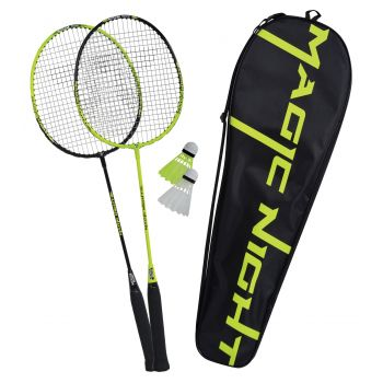Talbot Torro NIGHT MAGIC LED, badminton set, zelena