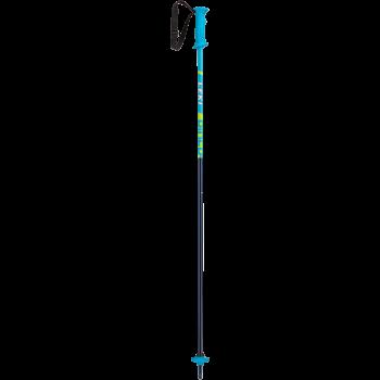 Leki RIDER, dečiji štapovi za skijanje, plava