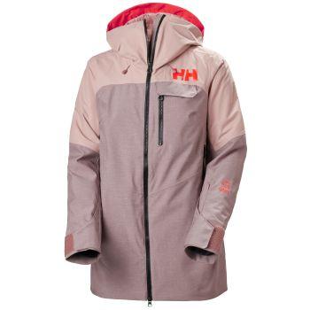 Helly Hansen W WHITEWALL LIFALOFT JACKET, ženska jakna za skijanje, pink