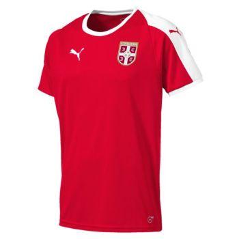 Puma SERBIA HOME SHIRT SS REPLICA, muška majica, crvena