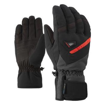 Ziener GARY AS, rukavice za skijanje, crna