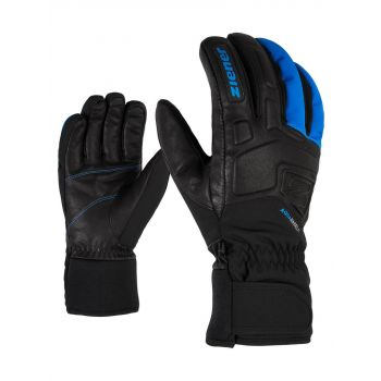 Ziener GLYXUS AS, rukavice za skijanje, crna