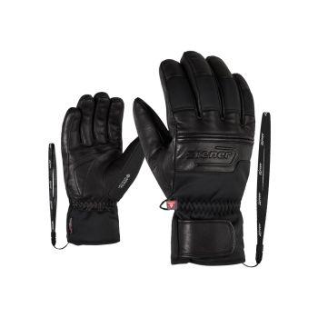 Ziener GIPPO GTX INF PR, rukavice za skijanje, crna