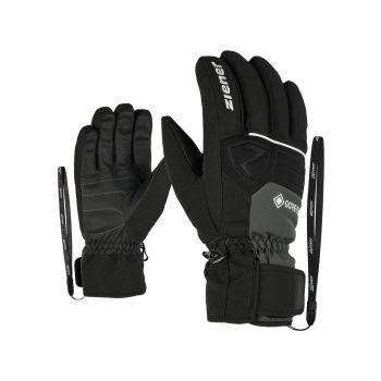 Ziener GREGGSON GTX, rukavice za skijanje, siva