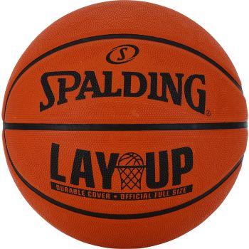 Spalding LAYUP, lopta za košarku, narandžasta