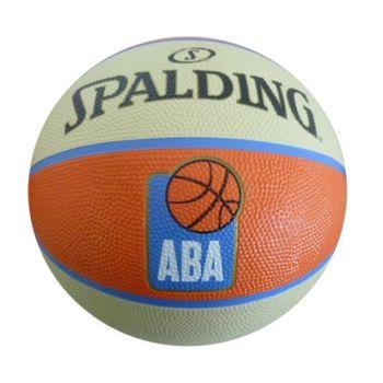 Spalding TF-50 ABA RUBBER, lopta za košarku, narandžasta