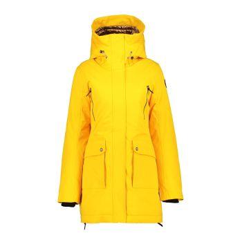 Icepeak EP ALLENDALE, ženska jakna, žuta