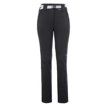 Icepeak BROMLEY, ženske pantalone za planinarenje, crna