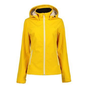 Icepeak BRENHAM, ženska jakna a planinarenje, žuta