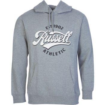 Russell Athletic EST 1902 - PULL OVER HOODY, muški duks, siva