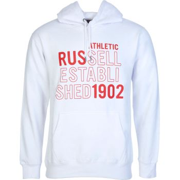 Russell Athletic RUS-PULL OVER HOODY, muški duks, bela