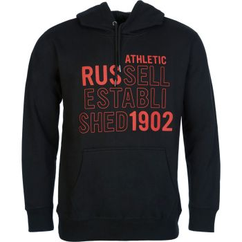 Russell Athletic RUS-PULL OVER HOODY, muški duks, crna
