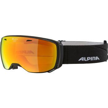 Alpina ESTETICA Q-LITE, skijaške naočare, crna