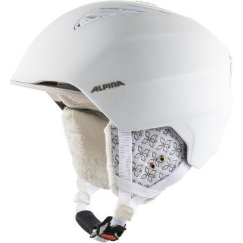 Alpina GRAND, ženska skijaška kaciga, bela
