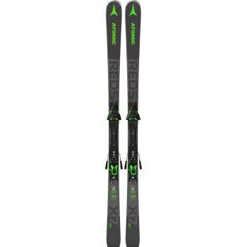 Atomic REDSTER X7 WB+F12 GW, set skija allround, siva