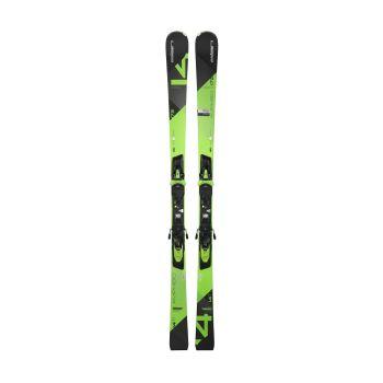 Elan AMPHIBIO 14 TI FUSION + ELX 11, set skija allround, zelena