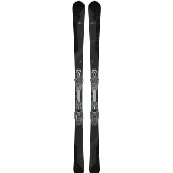 Elan AMPHIBIO 18 TI2 FUSION X + EMX 12.0 GW FX, set skija allround, crna