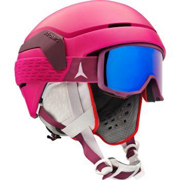Atomic COMBO COUNT JR, dečija skijaška kaciga, pink