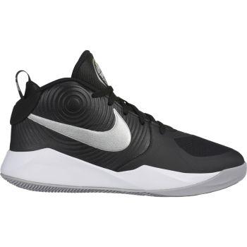 Nike TEAM HUSTLE D 9 (GS), dečije patike za košarku, crna