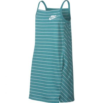 Nike G NSW DRESS FLC PE, dečja haljina, bela