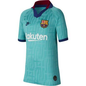 Nike FCB Y NK BRT STAD JSY SS 3R, dečji dres za fudbal, plava
