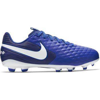 Nike JR LEGEND 8 ACADEMY FG/MG, dečije kopačke za fudbal (fg), plava