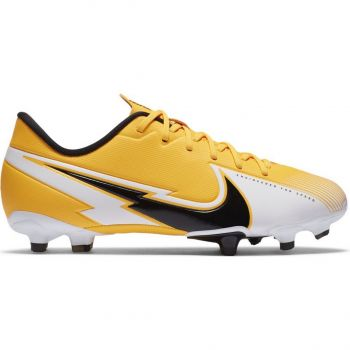 Nike JR VAPOR 13 ACADEMY FG/MG, dečije kopačke za fudbal (fg), žuta