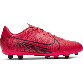 Nike JR VAPOR 13 CLUB FG/MG, dečije kopačke za fudbal (fg), crvena
