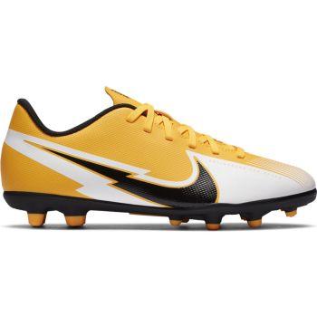 Nike JR VAPOR 13 CLUB FG/MG, dečije kopačke za fudbal (fg), bela