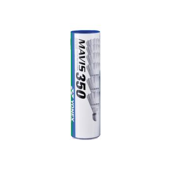 Yonex MAVIS 350 MIDDLE 6/1, loptica za badminton najlon, bela