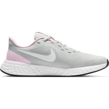 Nike REVOLUTION 5 (GS), dečije patike za trčanje, siva