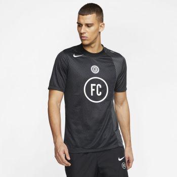 Nike M NK FC AWAY JSY SS, muška majica, crna