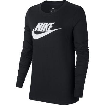Nike SPORTSWEAR LONG-SLEEVE T-SHIRT, ženska majica dug rukav, crna